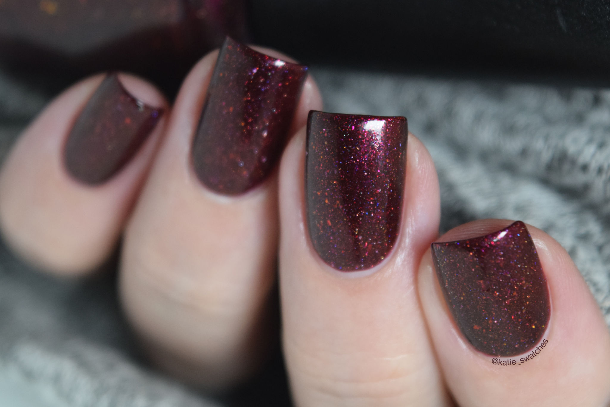 Pretty Beautiful Unlimited - Vengeance nail polish - Polish Pickup June 2018