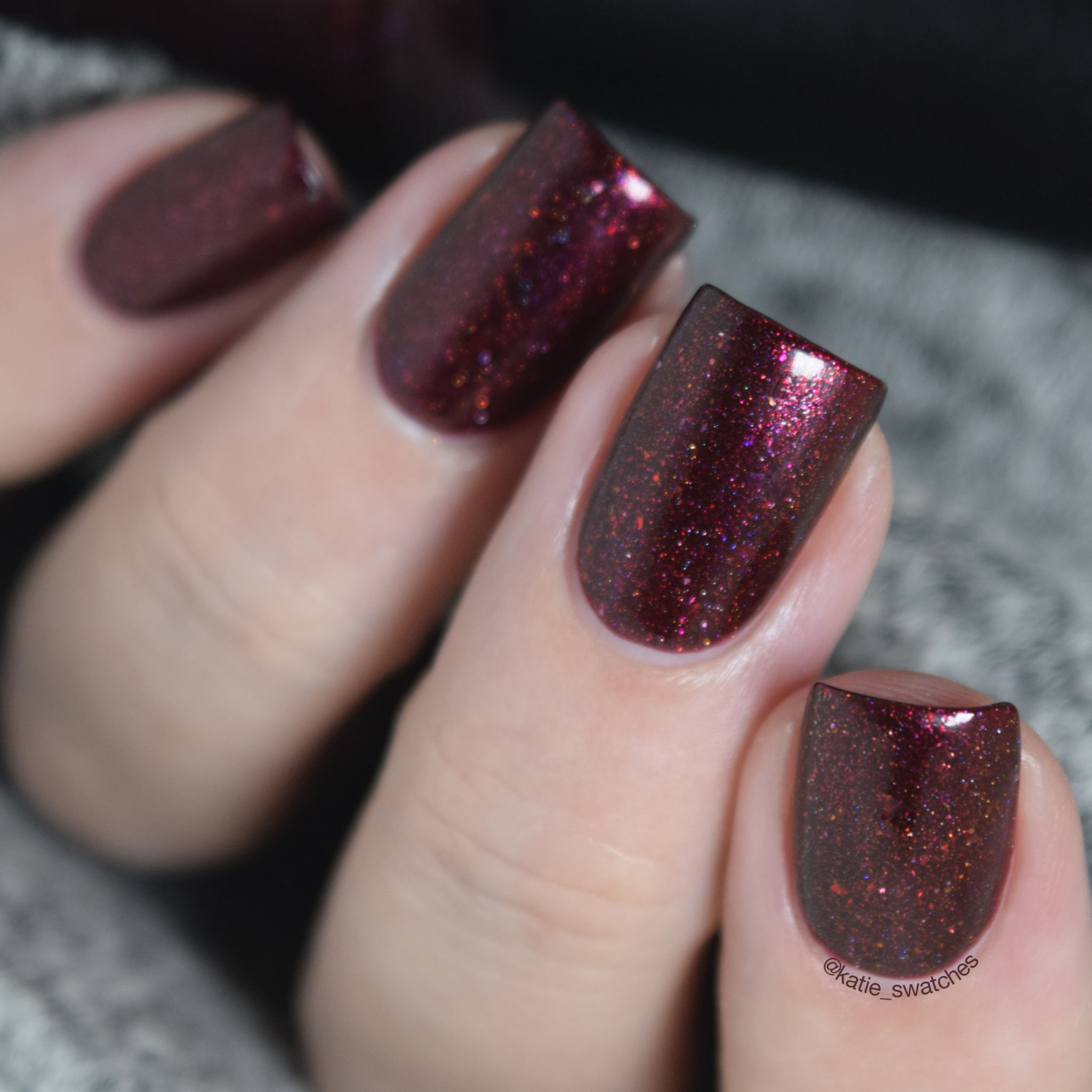 Pretty Beautiful Unlimited - Vengeance nail polish Polish Pickup June 2018