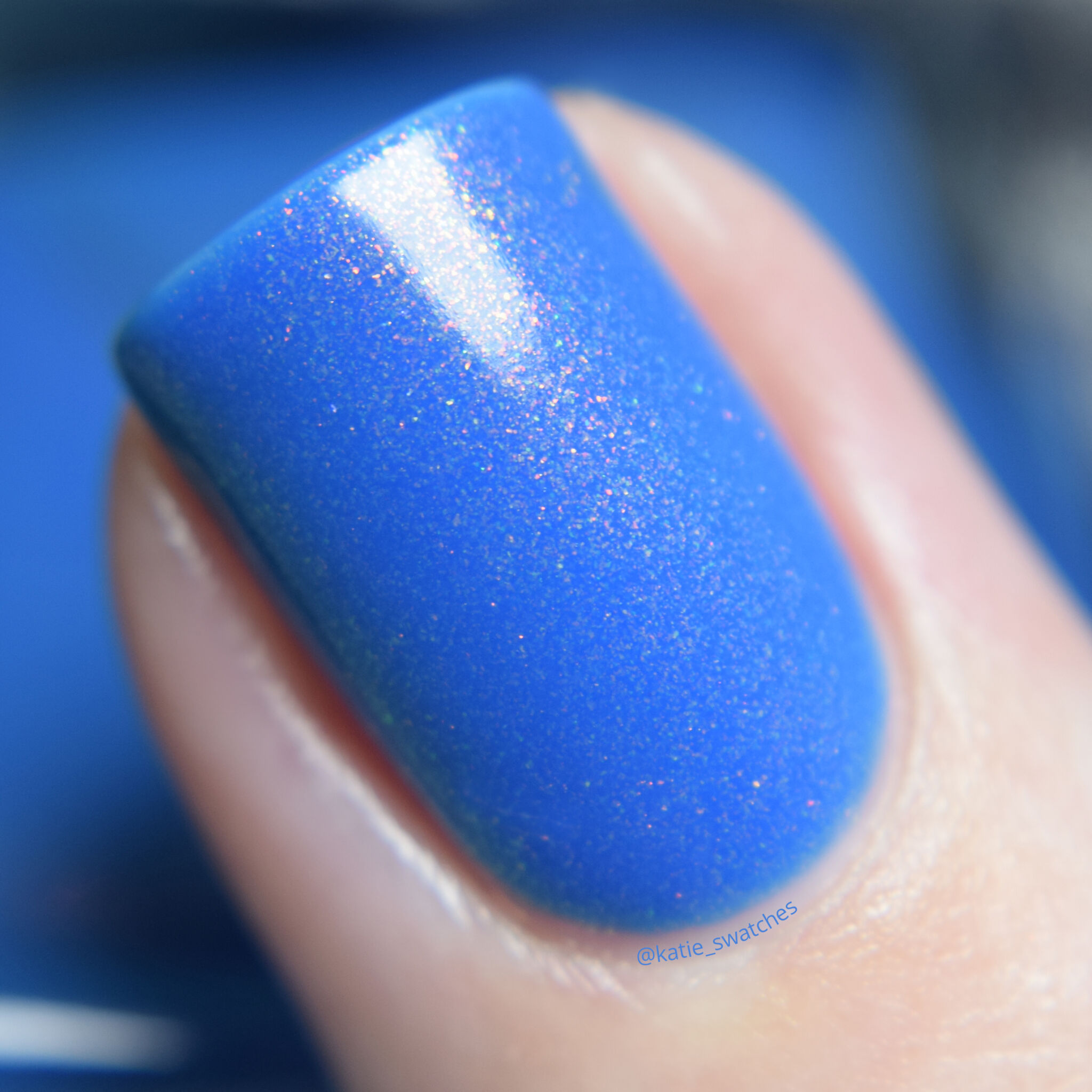 Ethereal Lacquer - Elsewhere nail polish swatch macro - Indie Expo Canada IEC VIP Bag Exclusive 2019