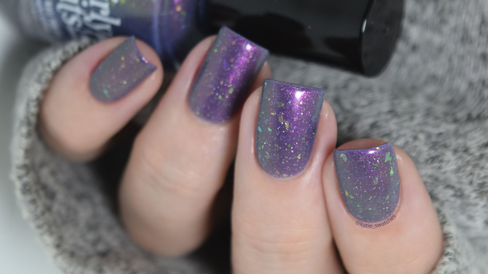 Girly Bits - Eww Yucca! nail polish swatch Polish Pickup PPU October 2019
